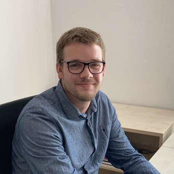 Bauleiter Rafael Schäfer-Wiedemeyer